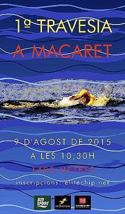1ª Travesía de Macaret 2015