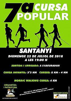 VII Cursa Popular Santanyi 2018