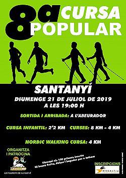 VIII Cursa Popular Santanyi 2019