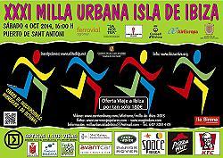 XXXI Milla Urbana Isla de Ibiza 2014