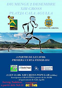 XIV Cross Playa Cala Agulla 2020
