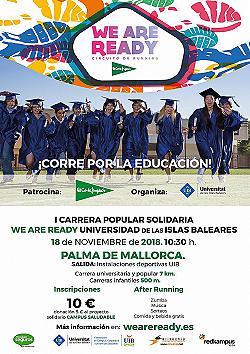 I Carrera Popular solidaria WE ARE READY UIB 2018