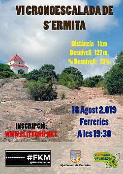 VI Crono escalada de s'Ermita de Ferreries 2019