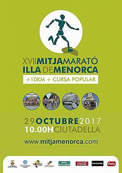 10 km i XVII Mitja Marató de Menorca 2017